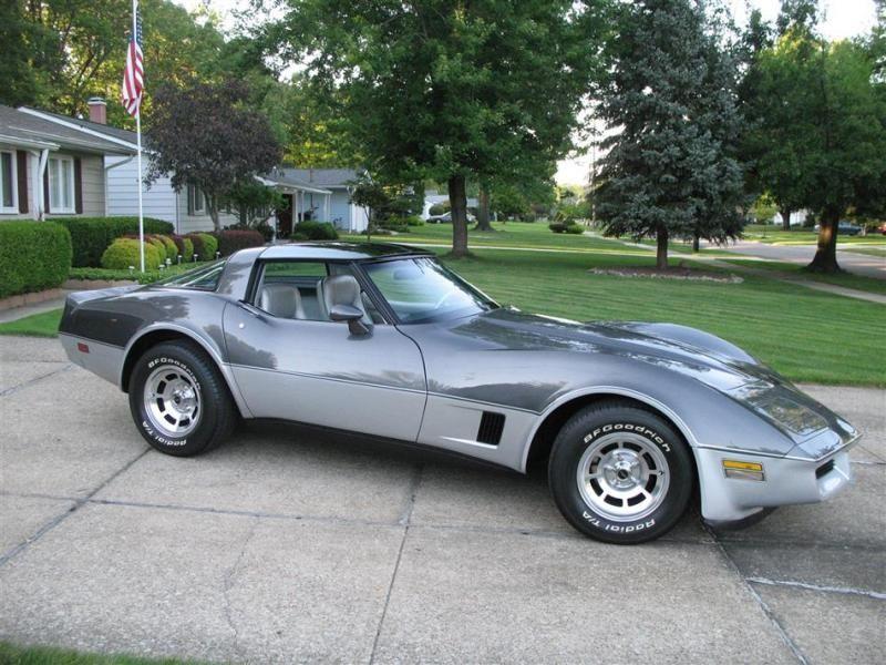 1981 This Is What I Have Now Two Tone Dark Blue Metallic Light Blue Corvette Corvette Summer Chevrolet Corvette