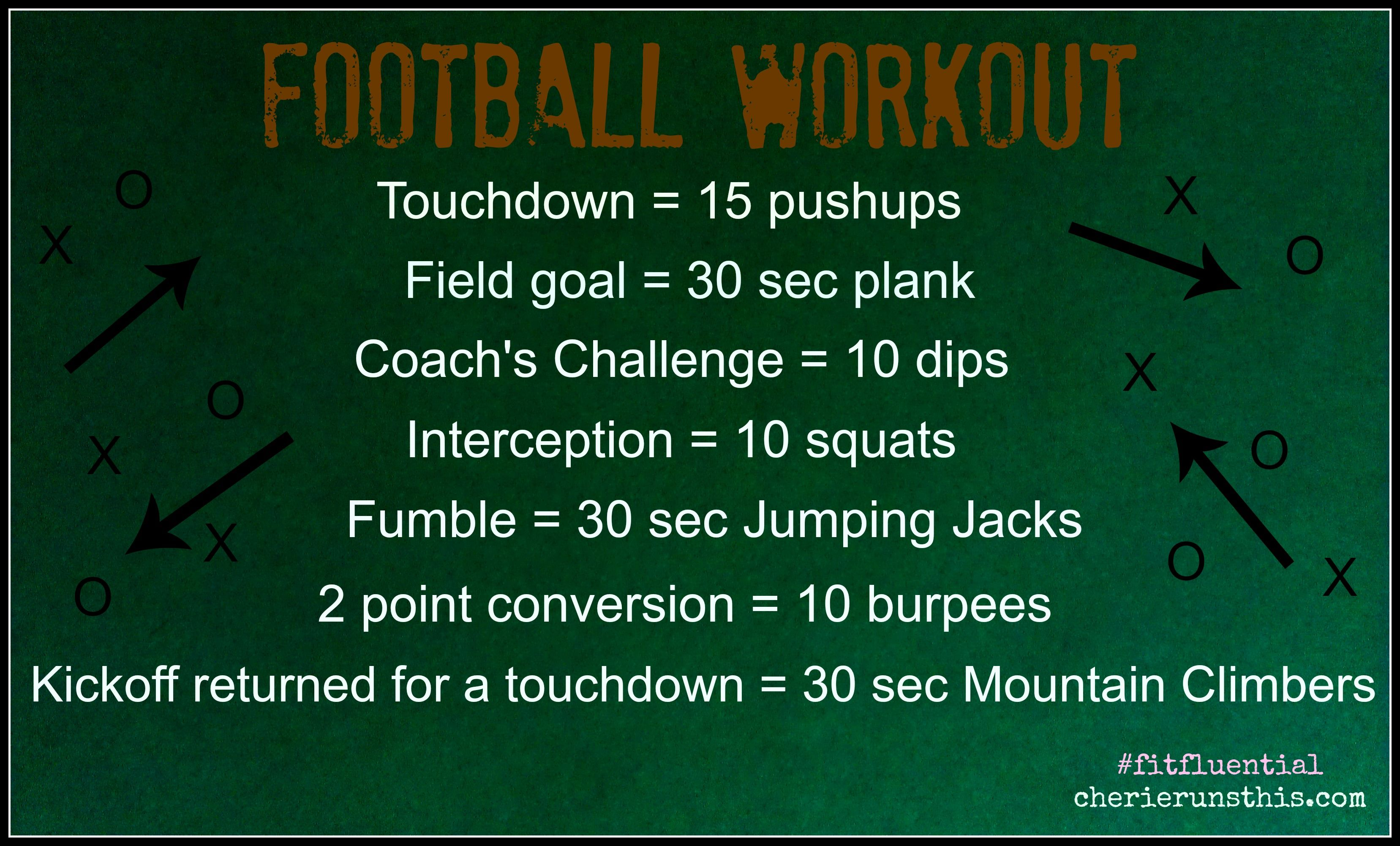Football Workout time!