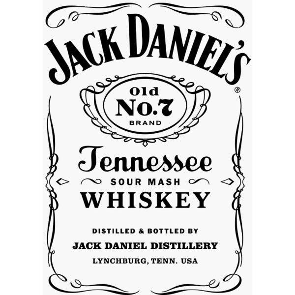 Jack Danials Whisky Logo Graphic T Shirt Super Graphic