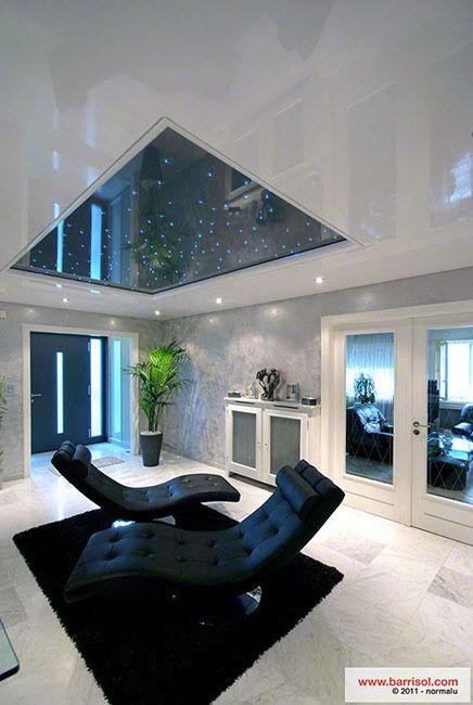 Barrisol soluzioni per la casa soggiorno controsoffitti ceiling house design e ceiling - Soluzioni per la casa ...