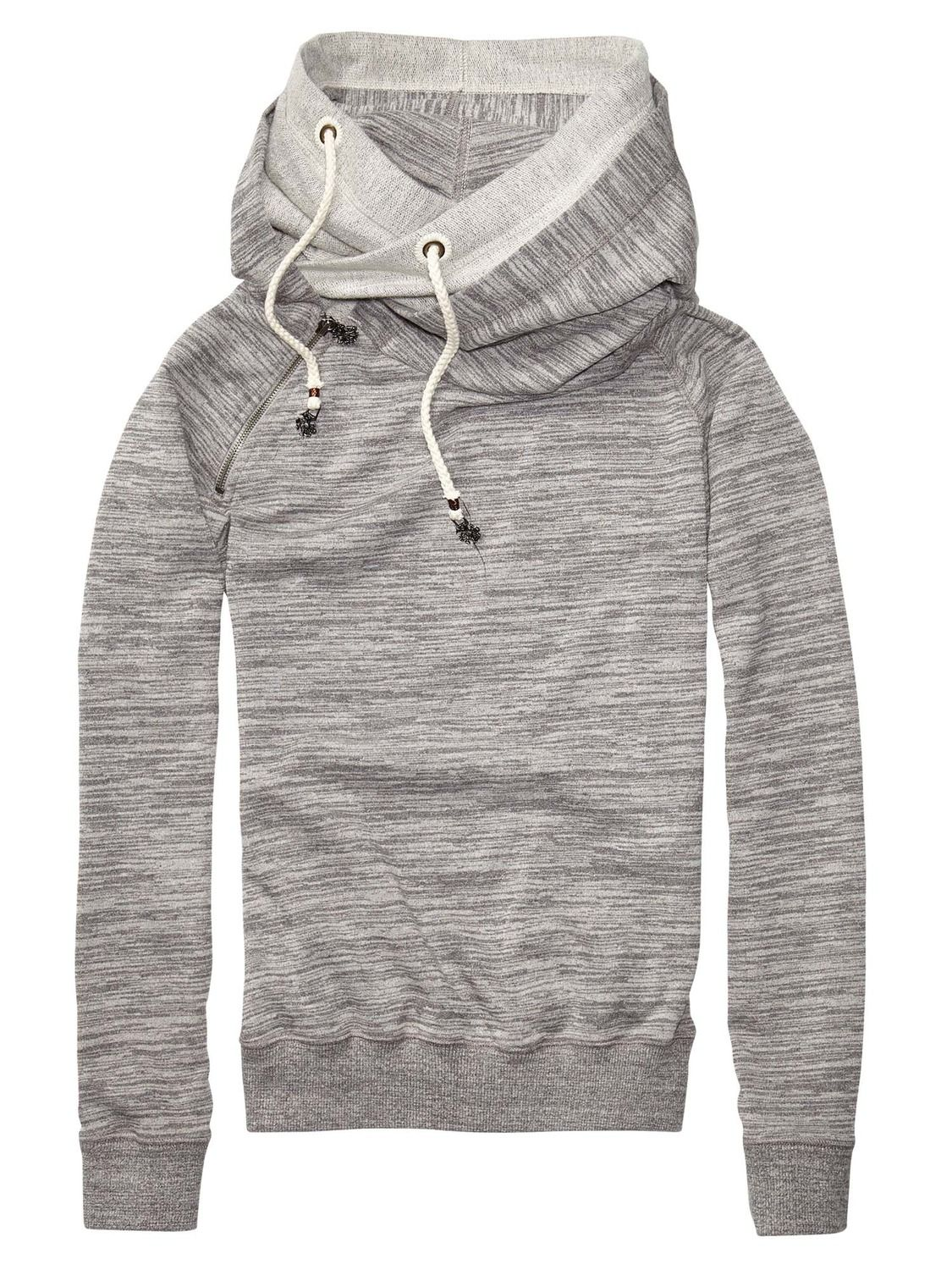bac8597c6c8 Home Alone Sweater With Double Layer Hood by scotch #Hoodie #Womens ...