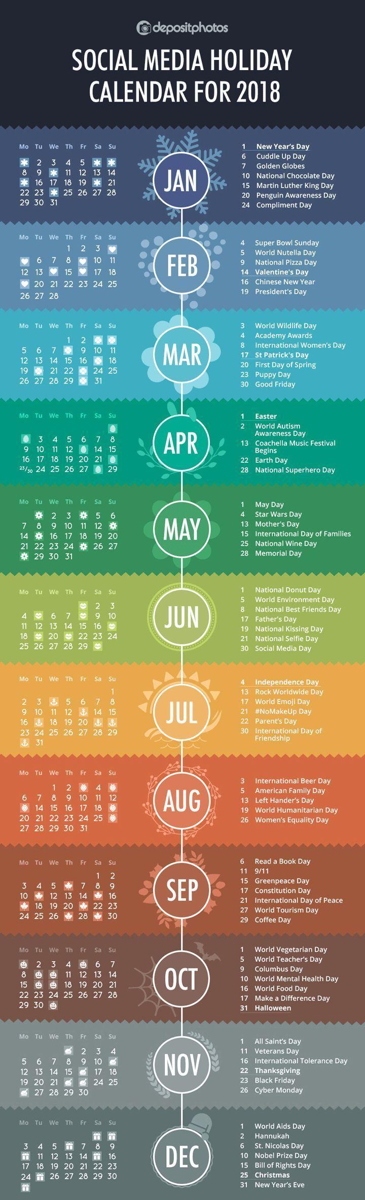 100 Social Media Holidays You Need In 2020 21 Indispensable Marketing Strategy Social Media Social Media Calendar Media Marketing