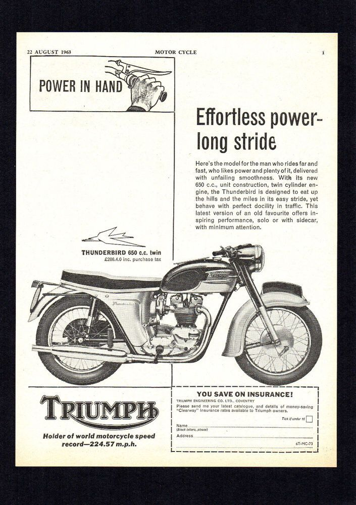 Classic triumph motorcycles user guide user manuals array pin by juliapeculiar on classic motorcycle magazine adverts rh pinterest fandeluxe Images