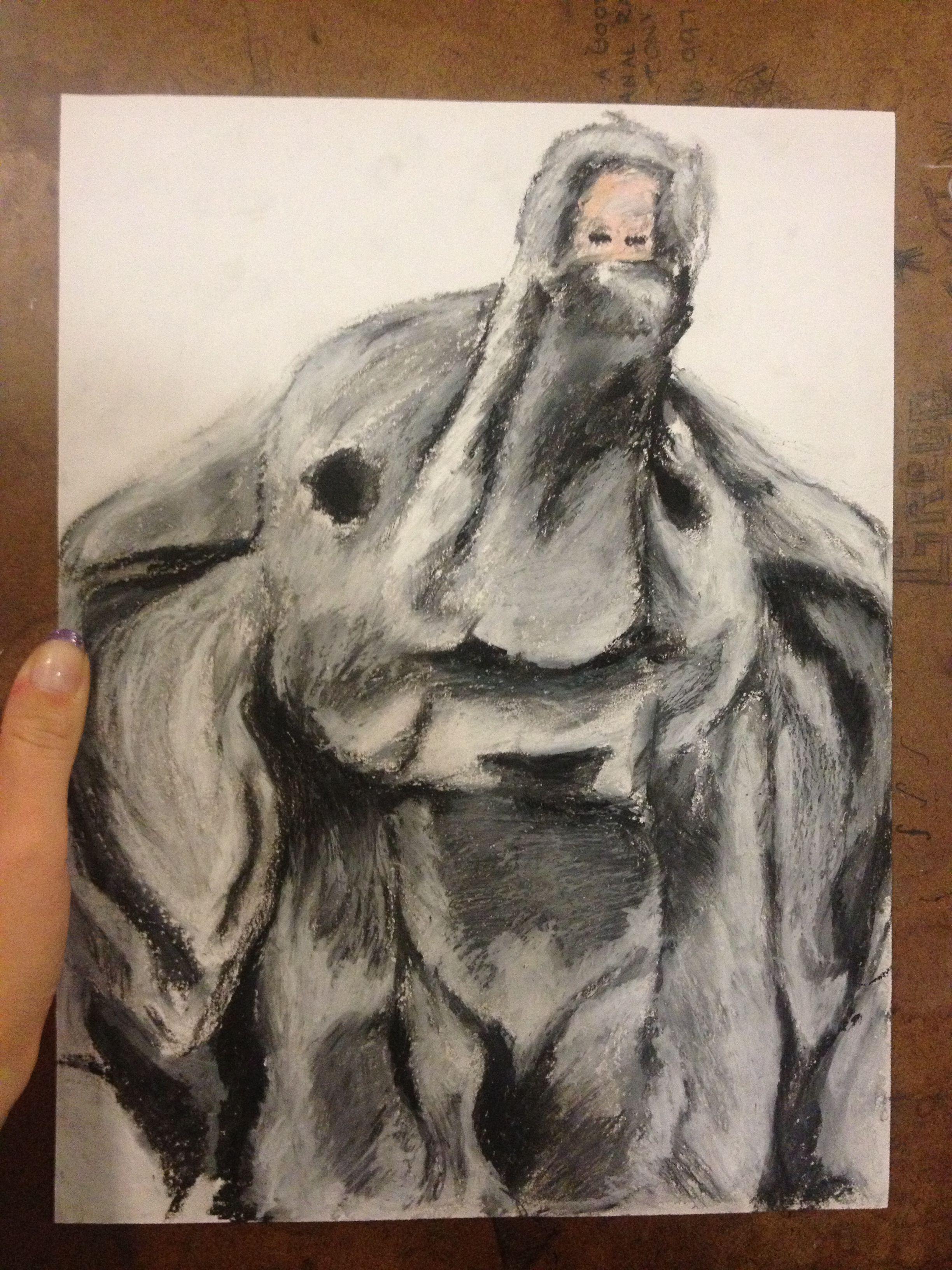 Oil Pastel Elephant Art Ideas In 2019