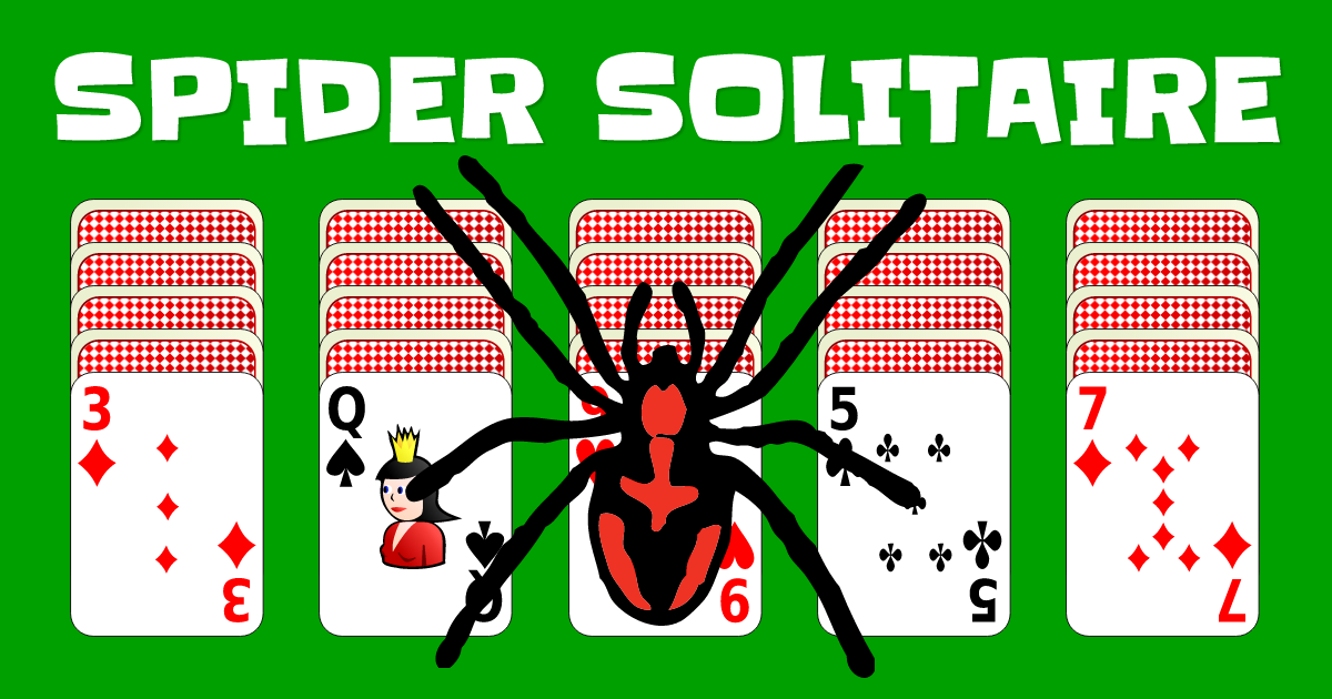 Spider Solitaire Spider solitaire, Solitaire card game