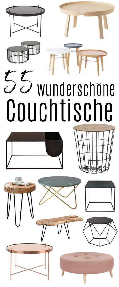 Die schönsten Couch-Tische für dein Wohnzimmer, die du ganz sicher lieben wirst ! — hochseiltraum