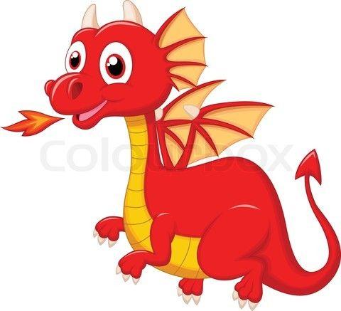Cute Dragon Cartoon Lol Rofl Com Cute Dragon Drawing Cute Dragons Red Dragon
