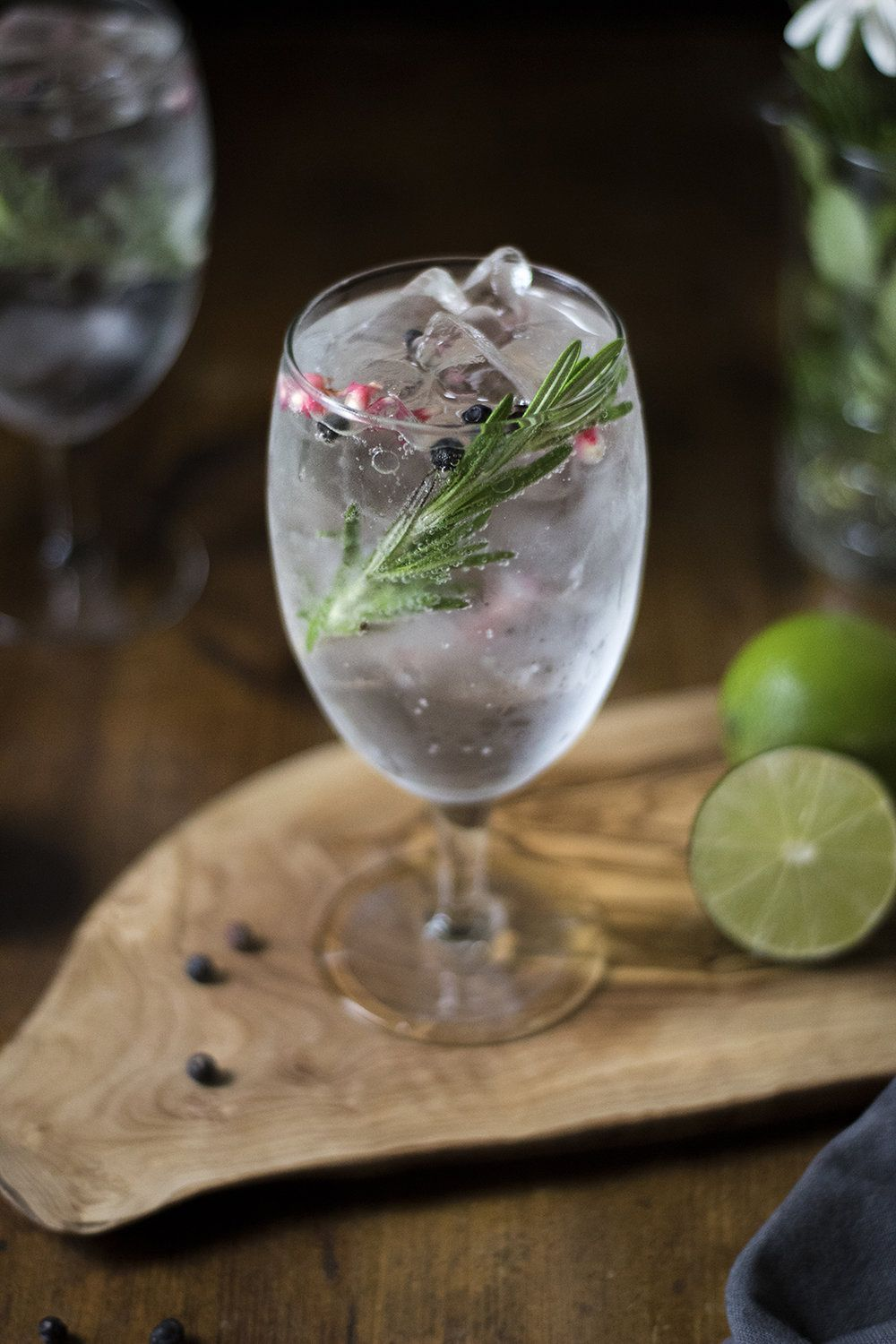 How to Make The Perfect Gin & Tonic + Juniper Lime Cookies