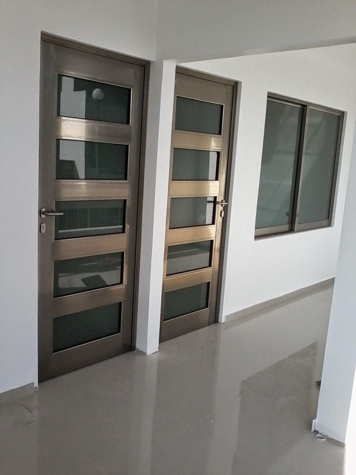 Imagen Relacionada Puertas Aluminio Pinterest Puertas  ~ Puertas De Aluminio Con Cristal