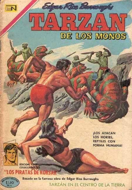 Tarzan Editado Por Novaro Portada De Historieta Portadas