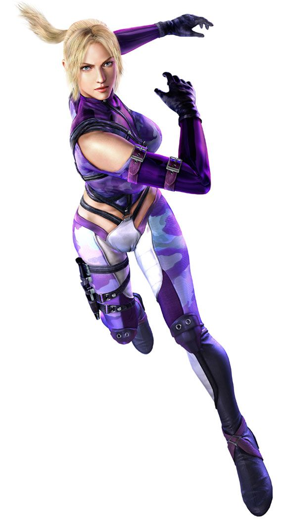Nina Williams Tekken 6 Warrior Girl Game Character Design