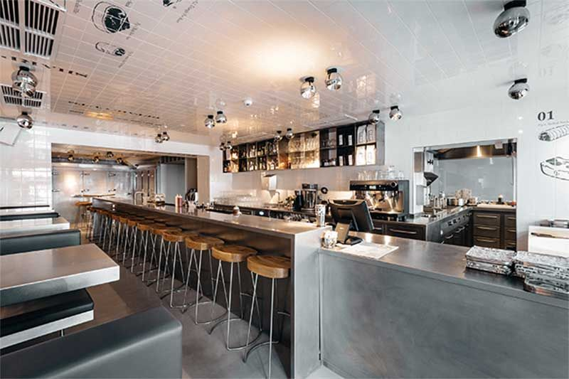 Ótimos restaurantes em hotéis em Berlim