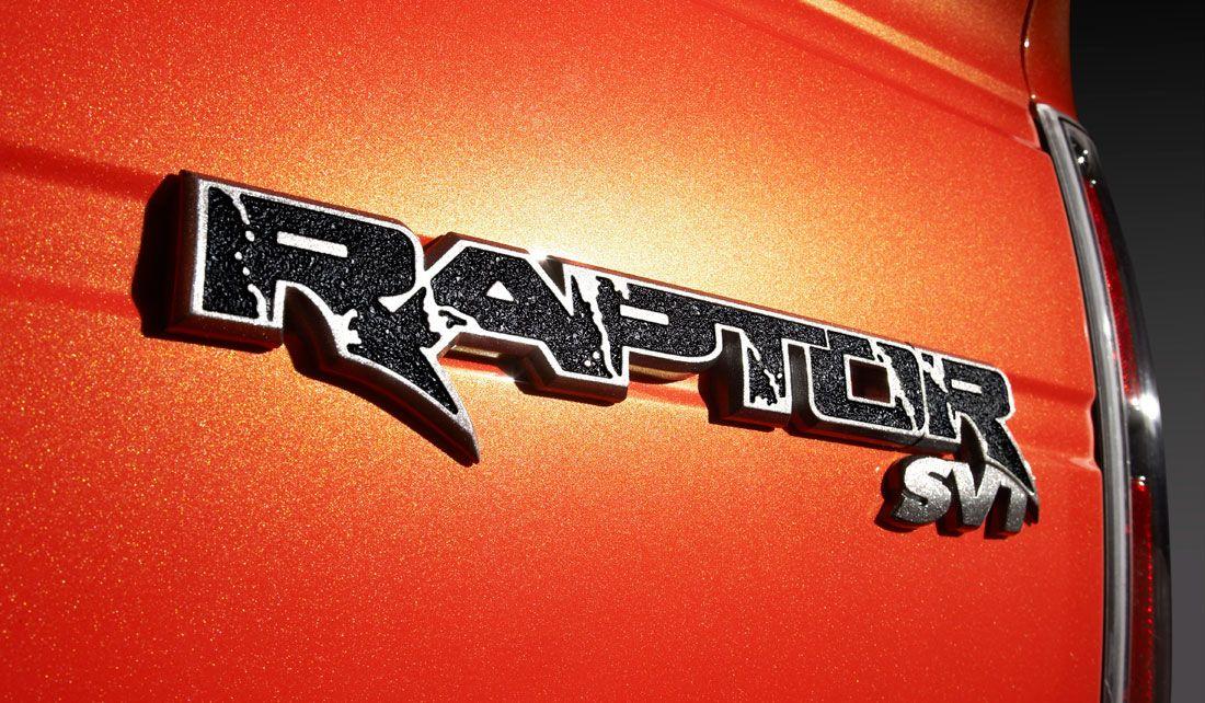 Ford Raptor SVT Logo on Red paint job Ford svt, Ford