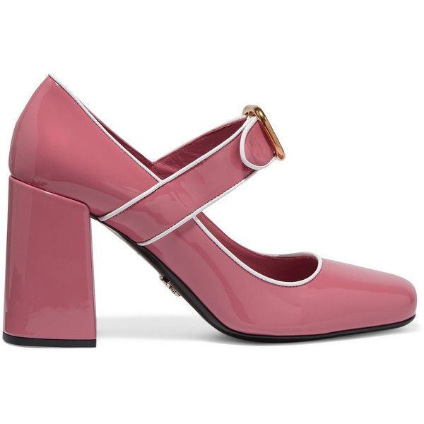Leather Pumps - Baby pink Prada bR7AYAFa7j