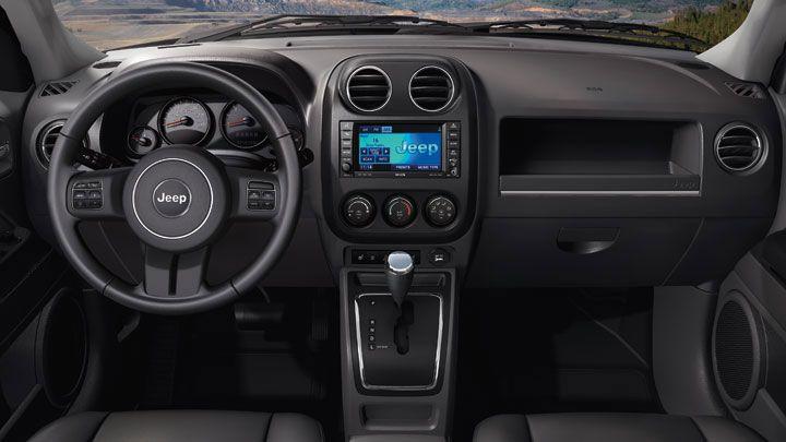 Patriot Latitude Interior Features Standard Audio And Speed