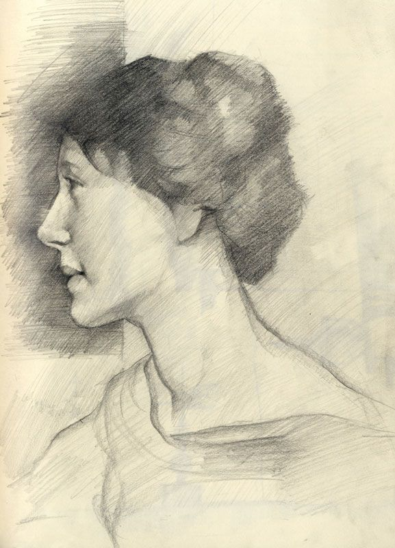 George Clausen study