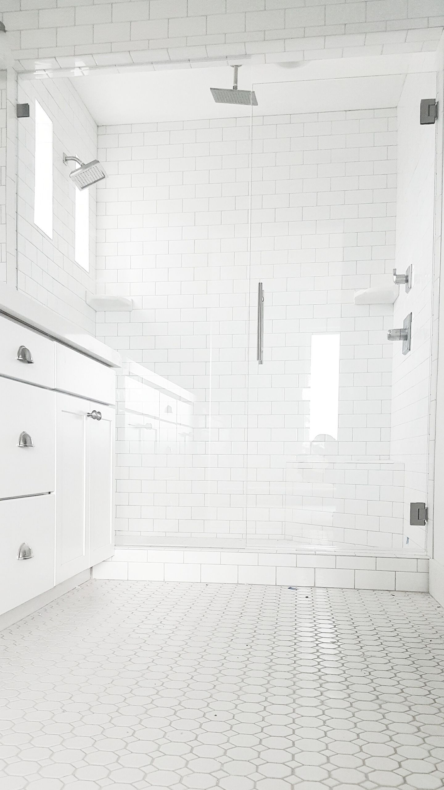 whitelanedecor @whitelanedecor Master bathroom ideas, white octagon ...