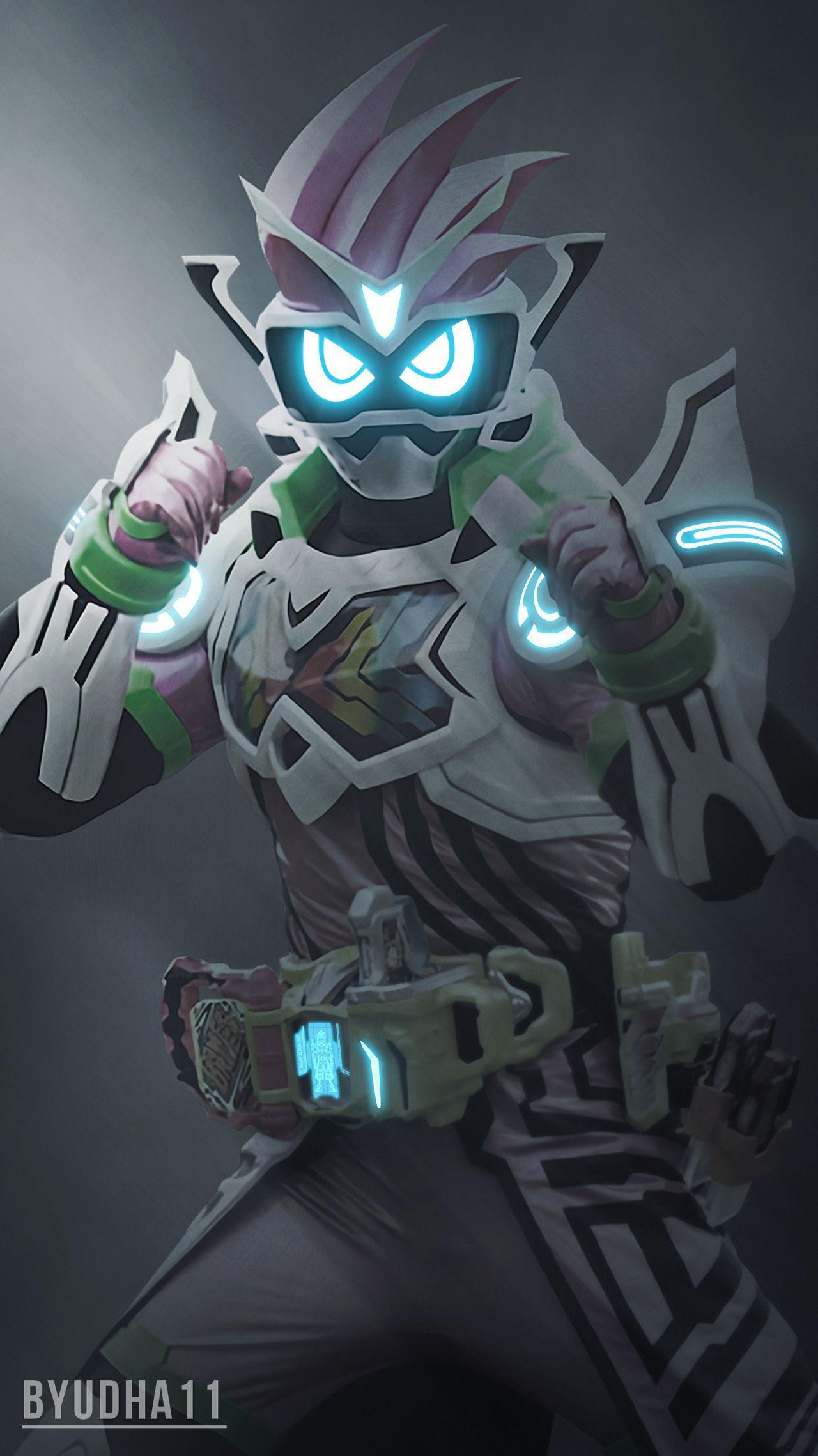 Kamen Rider Ex Aid Mighty Creator Vrx By Byudha11 On Deviantart Lukisan Keluarga Pahlawan Super Seni