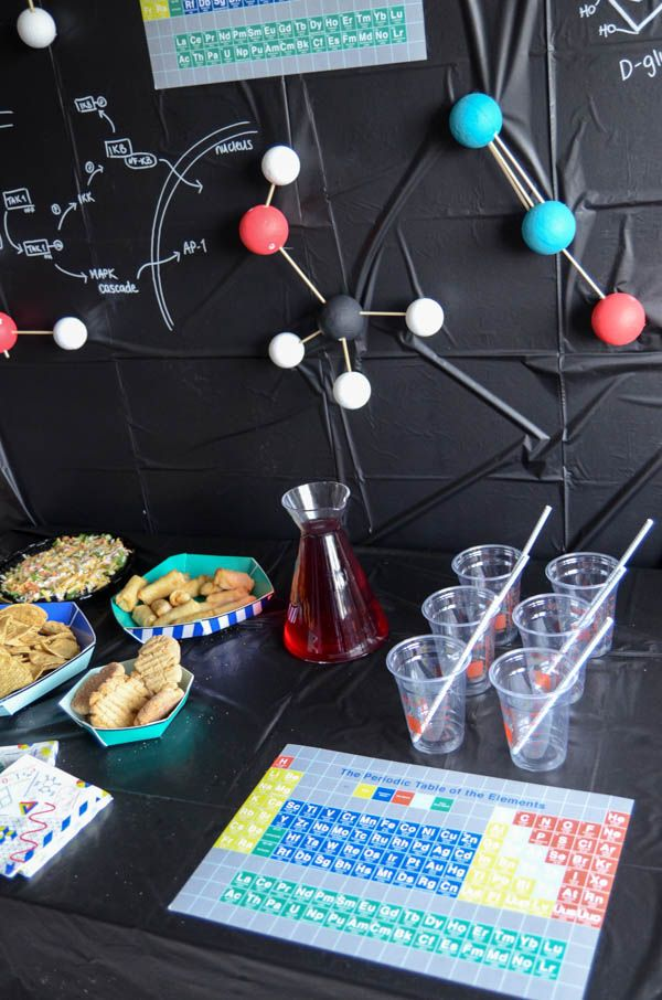 Science Themed Graduation Party