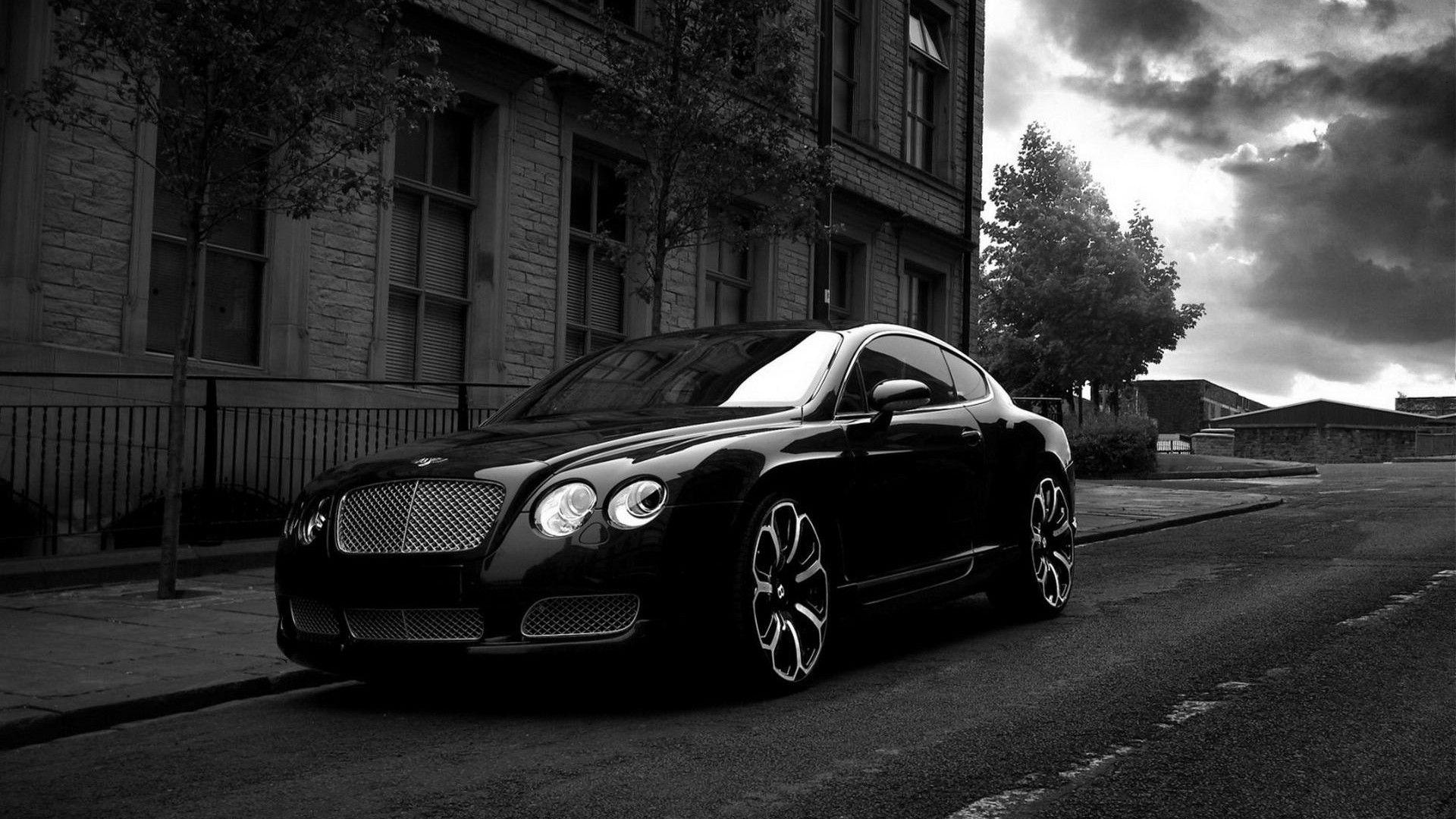 Bentley Black Continental GT