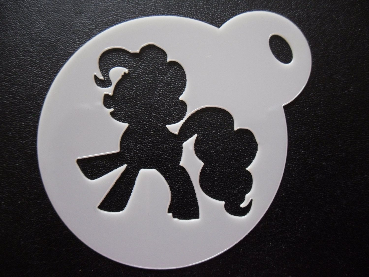 Unique bespoke new 60mm wife cookie craft /& face painting stencil