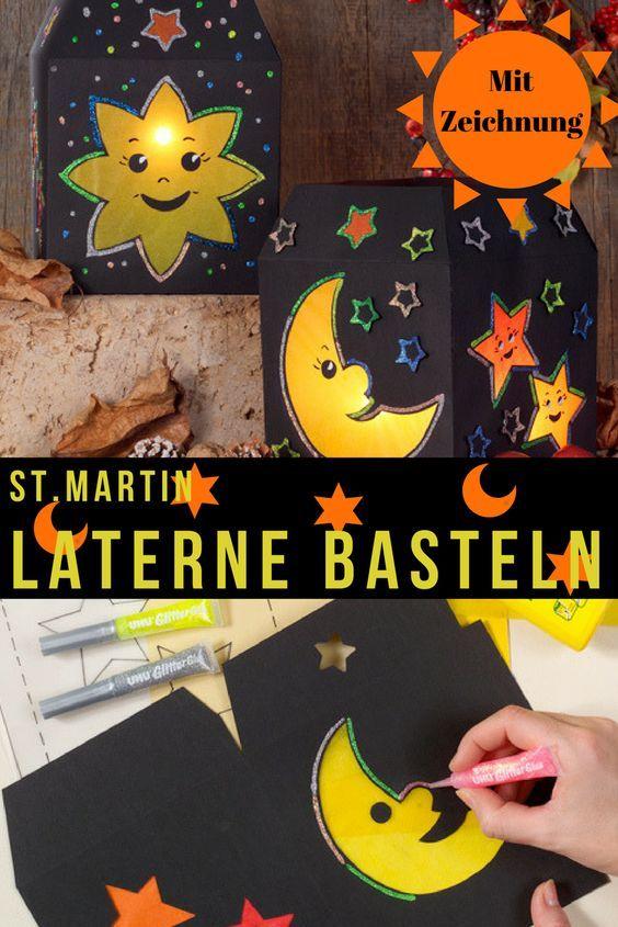 St. Martin: Laterne basteln | selbst.de #laternebasteln