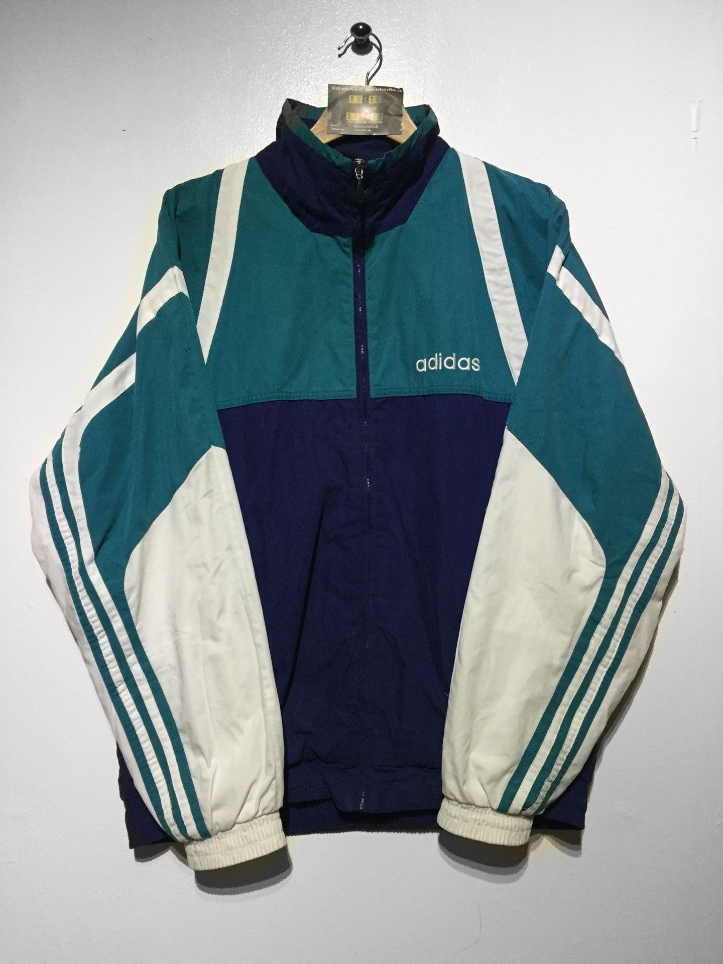 Adidas Jacket Size D7 Large But Fits Oversized Adidas