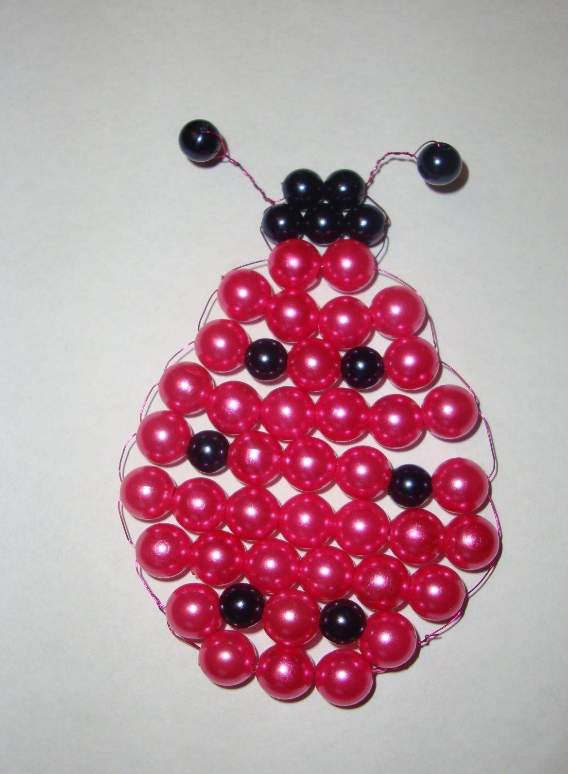 Craft Bead Animals Ladybug