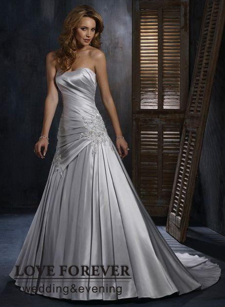 vestidos de bodas de plata | vestidos de novia, color gris perla
