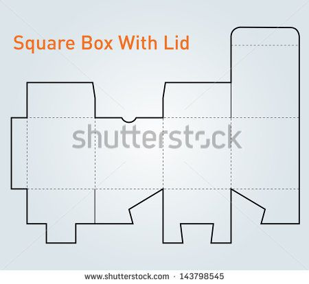 Stock Images similar to ID 45129739 - square and pyramid box ...