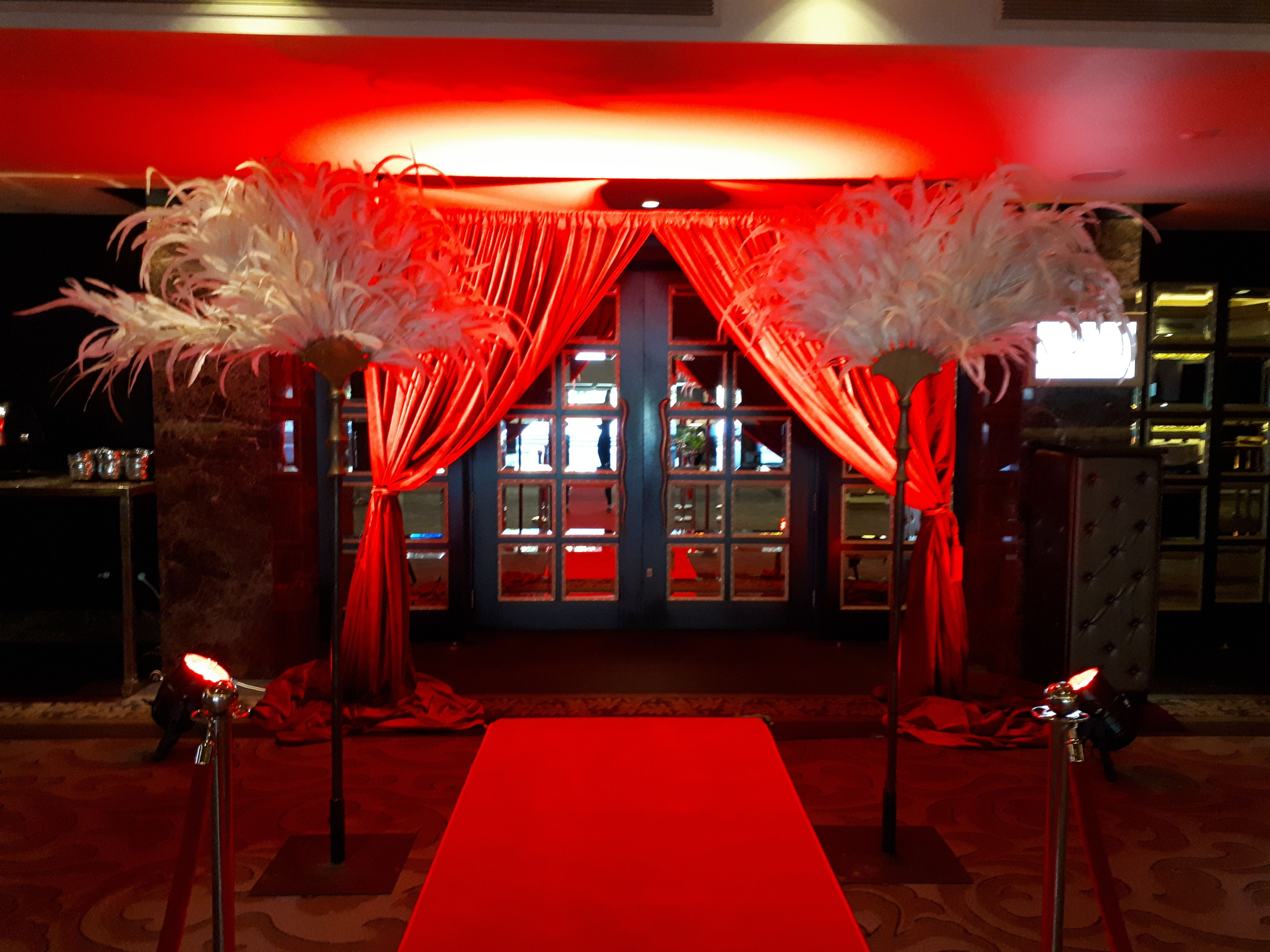 A Night At The Oscar S Theme Red Carpet Entrance Red Carpet