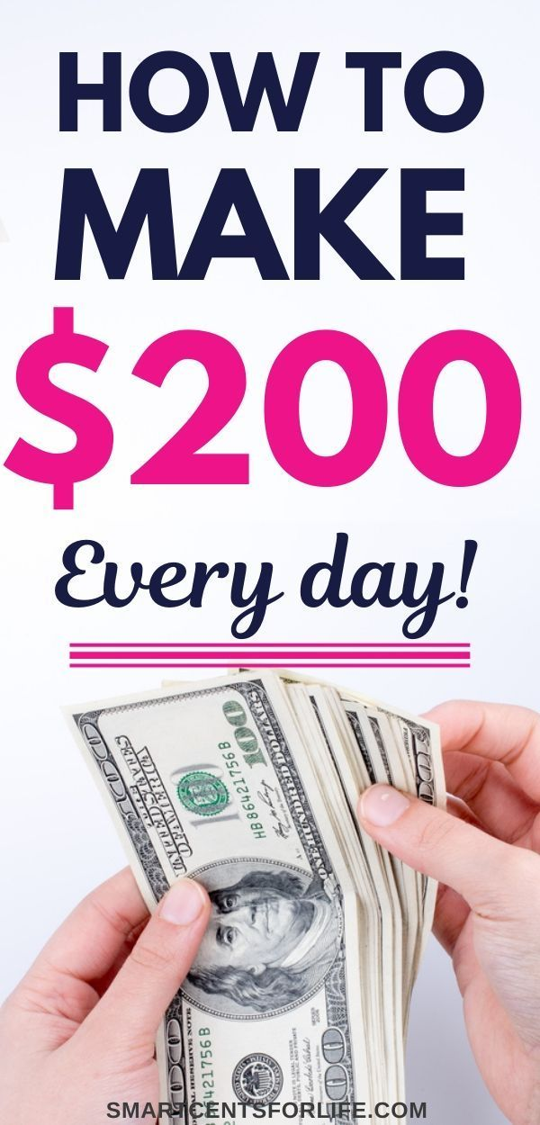 How to Make $200 in One Day (TOP Best Ideas for 2020) in ...