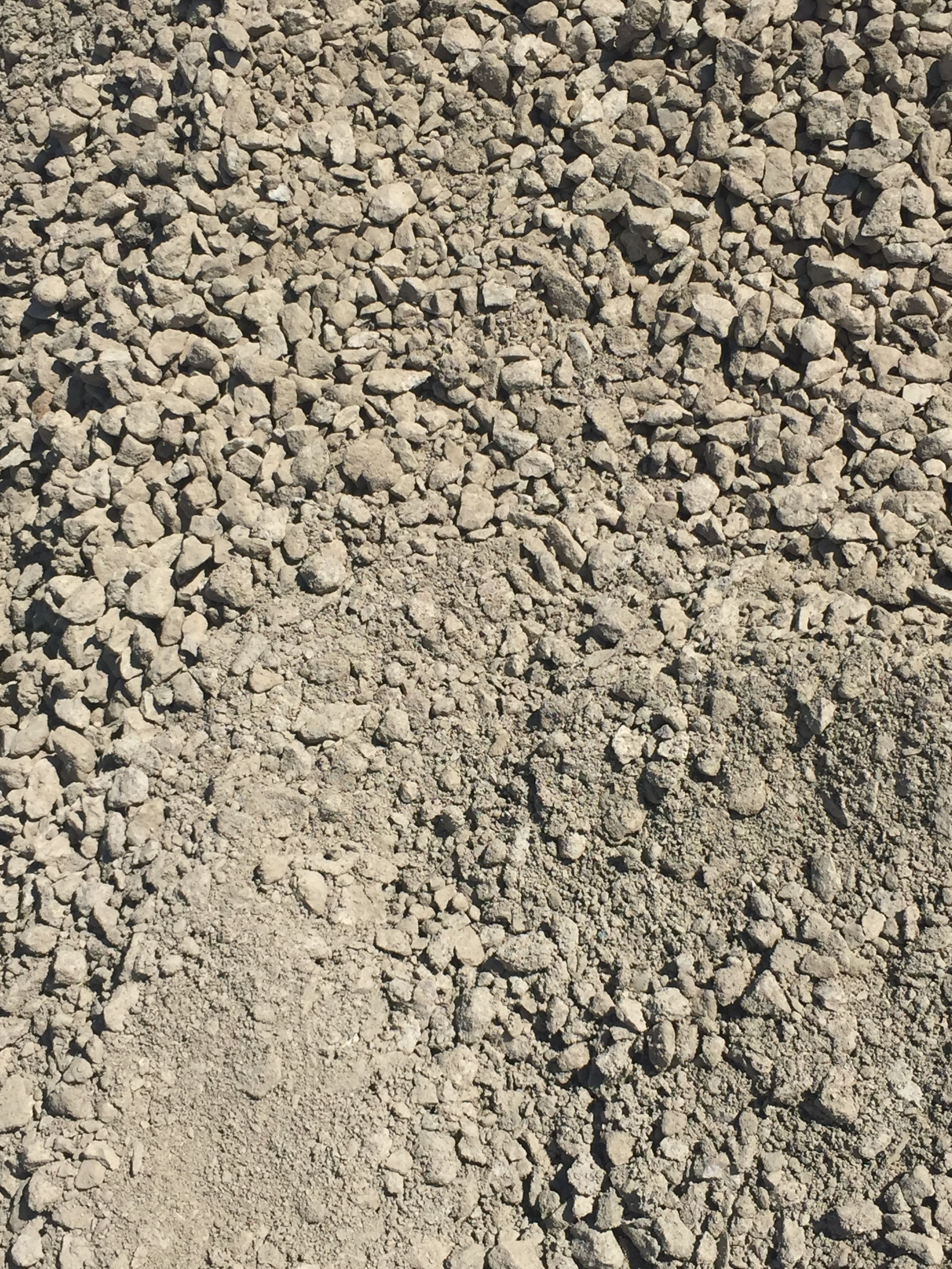 21A Crushed Concrete Used For Base Material For Pavers And Concrete