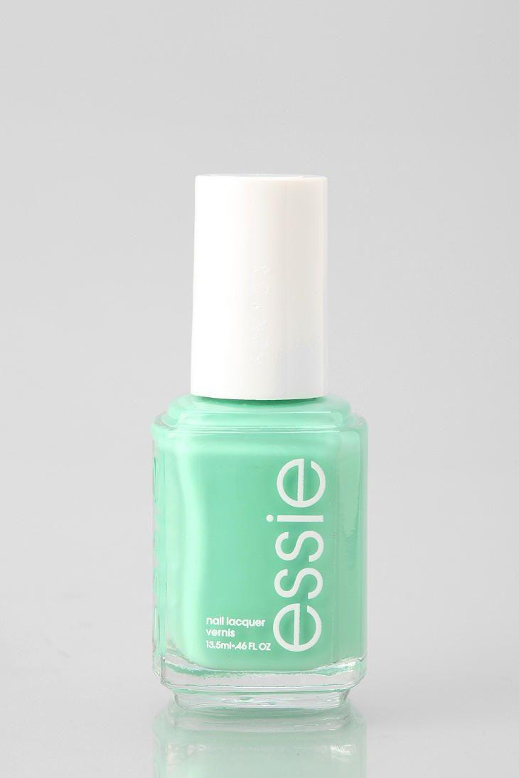 Essie Nail Polish Mint | Beauty | Pinterest | Esmalte, Esmalte para ...