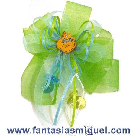 Corsage Baby Shower Azul Verde Como Hacer Manualidades Fantasias
