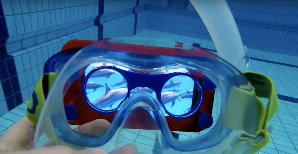 Waterproof VR Goggles  b76456985e70e