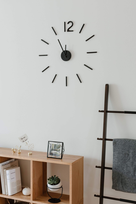 Blink Wall Clock In 2020 Wall Clocks Living Room Modern Living Room Wall Diy Clock Wall #standing #clocks #for #living #room