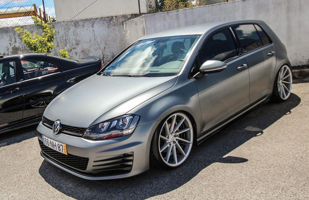 Vw Golf Mk7 Vossen Wheels Volkswagen Golf Gti Volkswagen Golf Vw Golf