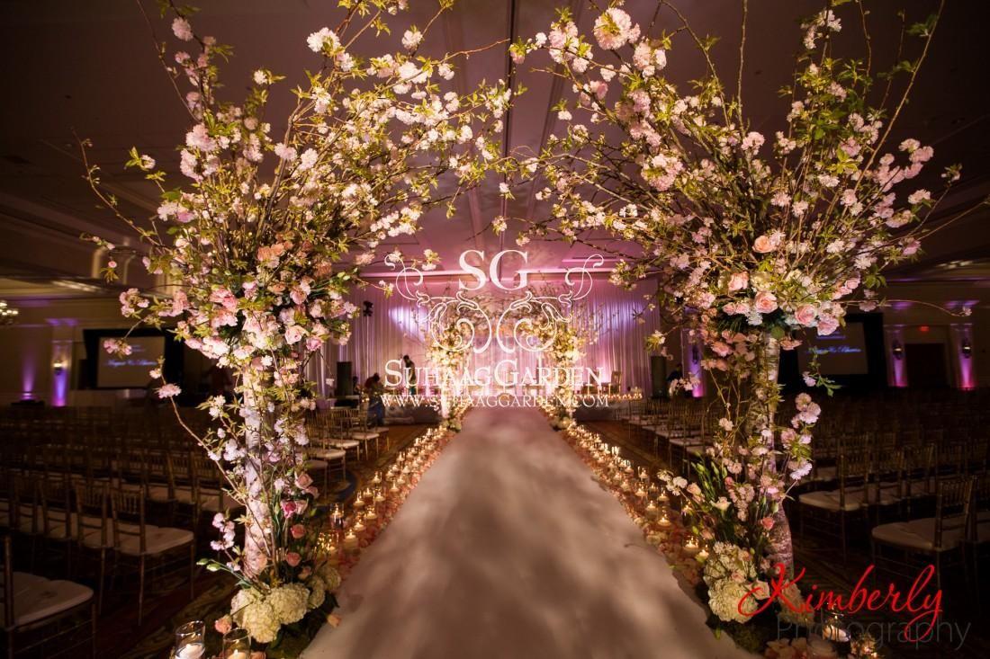 Event decor cherry blossom event design florida wedding decorator
