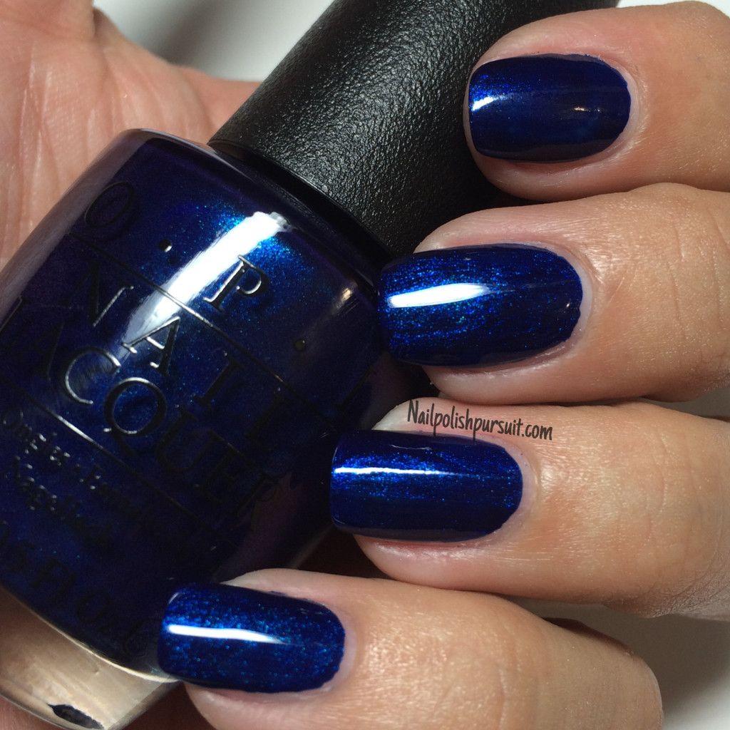 Yoga-Ta Get This Blue! By OPI | Nailpolishpursuit.com