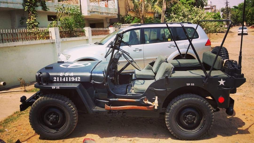 Freshly Restored 1942 Ford Gpw Fordgpw Gpw Ford Jeep Jeepindia Vintage Willys With Images Willys Jeep Jeep Willys