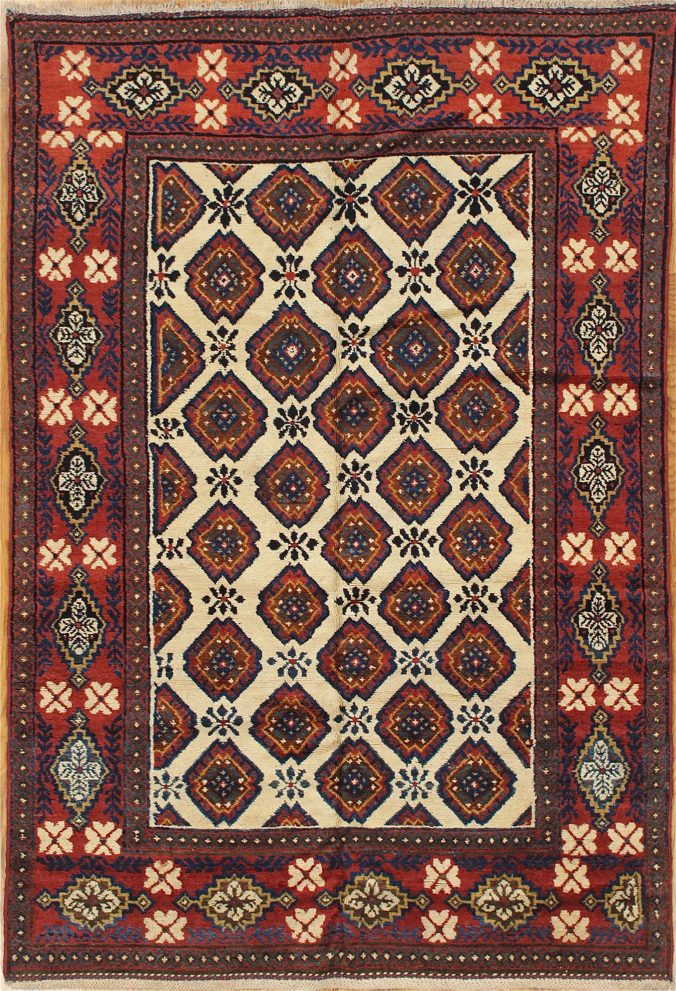 Afshar Rug From South East Iran Age Circa 1920 Size 5