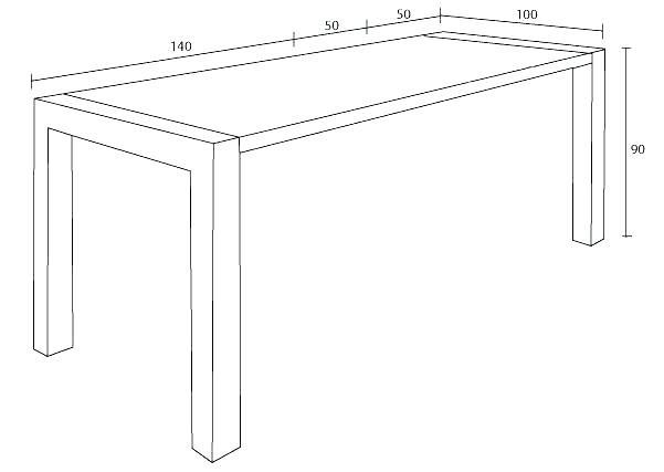 hauteur table a manger dimension e de