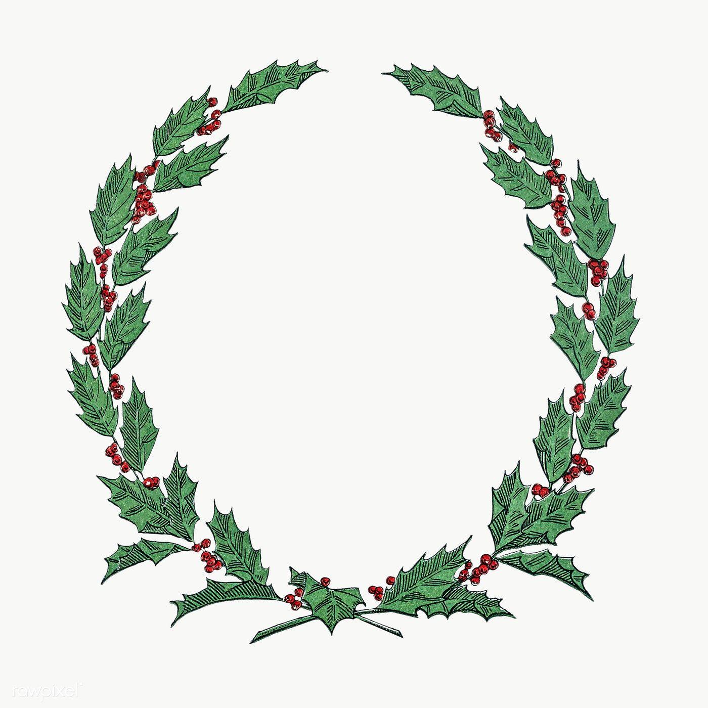 Download Premium Png Of Festive Christmas Wreath Transparent Png 1232619
