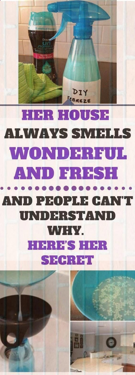 Her House Always Smells Wonderful And Fresh And People Can