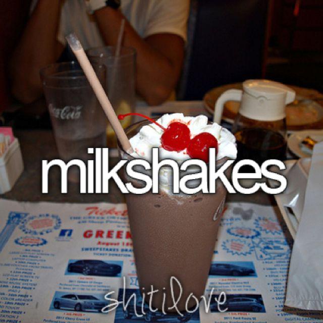 Milkshake 1 noun - A drink consisting of milk and Icecream.