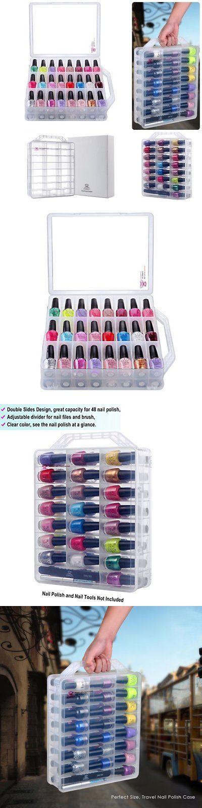 Nail Practice and Display: Nail Polish Storage Box Organizer Display ...