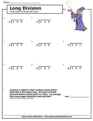Long Division Worksheets  Kids Ipad Apps Reading  Writing