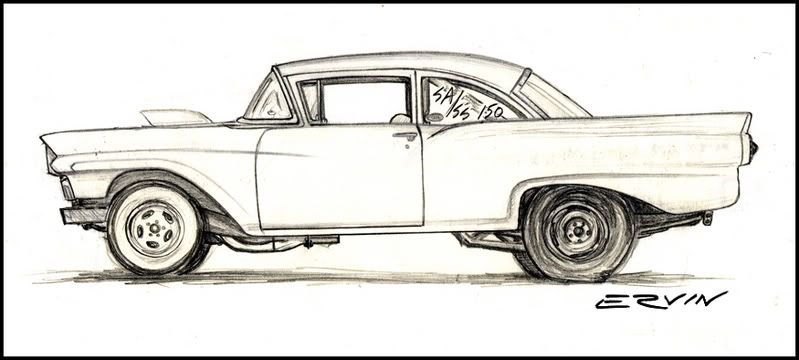 ford rod colouring pages page