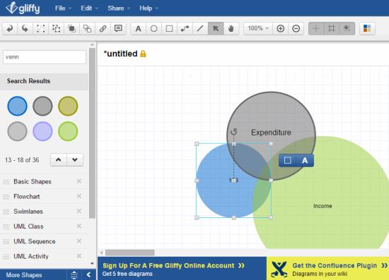 5 free venn diagram maker websites free software apps tools 5 free venn diagram maker websites free software ccuart Images